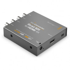 Конвертер Mini Converter - Quad SDI to HDMI 4K 2
